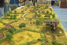 Wargaming / Terrain, table and storage for wargaming. / by Leaping Lunges