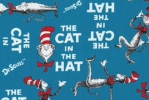 Dr Seuss Quilting Fabric