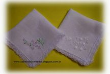 lencinho bordado a mão