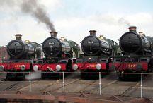 Railway Steam Locomotives / by Pieter Smith