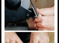Tools sharpen/ gereedschap slijpen