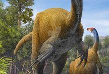 Dinosaurios, Prehistoria, Historia
