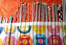 Porta agulhas trico