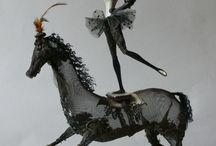 Horses / Фотографии животных, шутки про животных