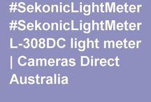 Light Meters / #SekonicLightMeters #StudioLightMeters #CameraLightMeters #LightMeters http://www.camerasdirect.com.au/studio-lighting