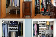 closet organize and ideas