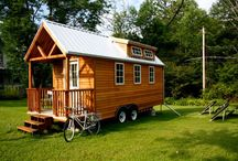 Small Spaces and Tiny Houses / by Ann Holley