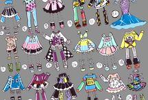 Chibi tøj
