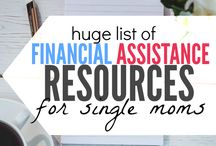 Interesting Ways to Help Single Moms / A collection of pins and blog posts that offer help in areas some single moms may need assistance.