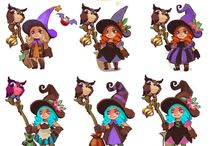 witch concept art