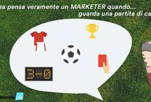 Cosa pensa un MARKETERs quando...