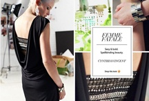 Spring Trend: Femme Fatale / Sophisticated.  Clad with confidence.