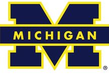 U of M- Go Blue! :P / by Devona Lamb