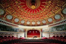 Architecture - Theatres & Opera Houses / by Lisa LoPiccolo