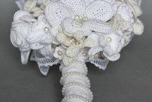 ramos de noiva  crochet
