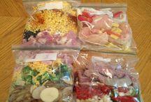 Food: Crockpot & Freeze Ahead / crock pot recipes and freeze ahead meals