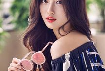 Suzy ♡ / Bae Suji is an actress and a singer in the kpop girlband Miss A. She's the maknae of her band.