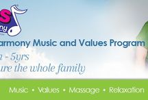 Kids in Harmony / Nurturing happy, whole-hearted and resilient families! A Music Appreciation and Values program (0- 10Yrs).  Based in Townsville, Queensland. www.kidsinharmony.com.au