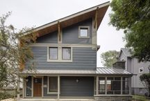 """Right Sized Oak Park Home / This """"right-sized"""" compact home was built and based on the Passive House paradigm and is pursuing, through Eco Achievers, LEED-Platinum certification. The intention of this project is to demonstrate that luxury can be achieved in a smaller space if the structure is built with attention to indoor-outdoor connections and quality"""