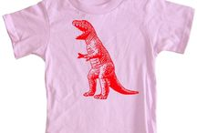 "dinosaurs for girls / luciana is dinosaur crazed and also happens to be a bit of a girly girl. most dinosaur themed items are too ""boy"" for her. so now I am on a quest for girly dinosaur things.  / by Lillian Guzlowski"