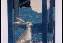 Obrazy z tkanin