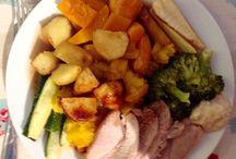 Sundays...... / Sunday roasts, fabulous tasty, healthy and warming