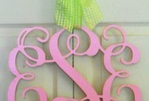 Monograms / by Peggie Johnson-Reed