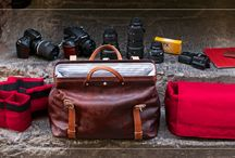 Roamographer Leather Camera Bag