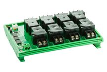 I2C Bus Relays / Over 2 wires, I2C bus, a lot of relays can be controlled.
