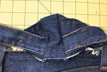 Curves Sewing for muffin tops enlarging waistbands