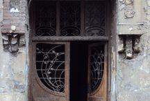 love brown doors