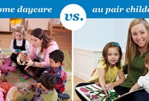 About au pair childcare / What is an au pair?  What can an au pair do?  Should you host an au pair?  We will answer some of the most frequently asked questions about au pair childcare and dispel some of the common myths to help you discover the benefits of hosting an au pair with Cultural Care Au Pair.