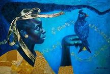 art: moody blues / by artsy Chica