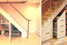 Stairs - utilizing space under