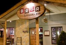 BRGR Kitchen & Bar / BRGR KITCHEN + BAR brings you a fresh adaption of the most classic restaurant concept around. The hamburger was born and bred in America as a convenient way to eat on the go, but it's grown up a bit, and has become our country's favorite food. Imagine those original burgers from classic burger joints, recreated using 21st century methods, and you have BRGR's modern burger. www.brgrkitchen.com