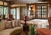HOME --- porch rails