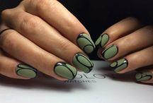 unghie verde