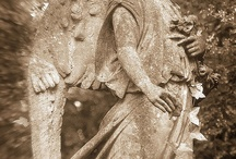 Wood Carving Angels