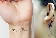 Ideias para tatuagens