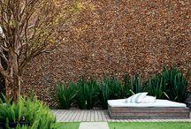 Muro jardim