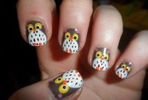 Fall Nails / Nail designs for Fall including Halloween and Thanksgiving / by Leslie Brown