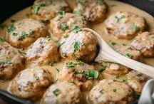 boulettes de poulets