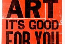 Art Inspirations / A board to get me through art school