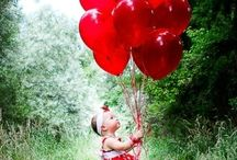 99 Red balloons / by Elaine Flores