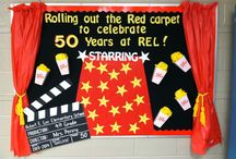 red carpet - oscar bulletin board