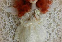 Ангелы куклы