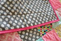 Blankets & Linens / DIY tutorials for blankets, customized towels, table runners, and fabric decor for the home!