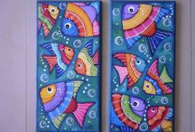 tripticos peces