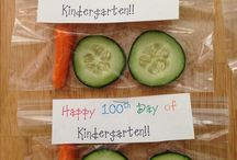 100 Days of School ROCKS in Cafeteria
