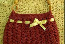 carteras crochet